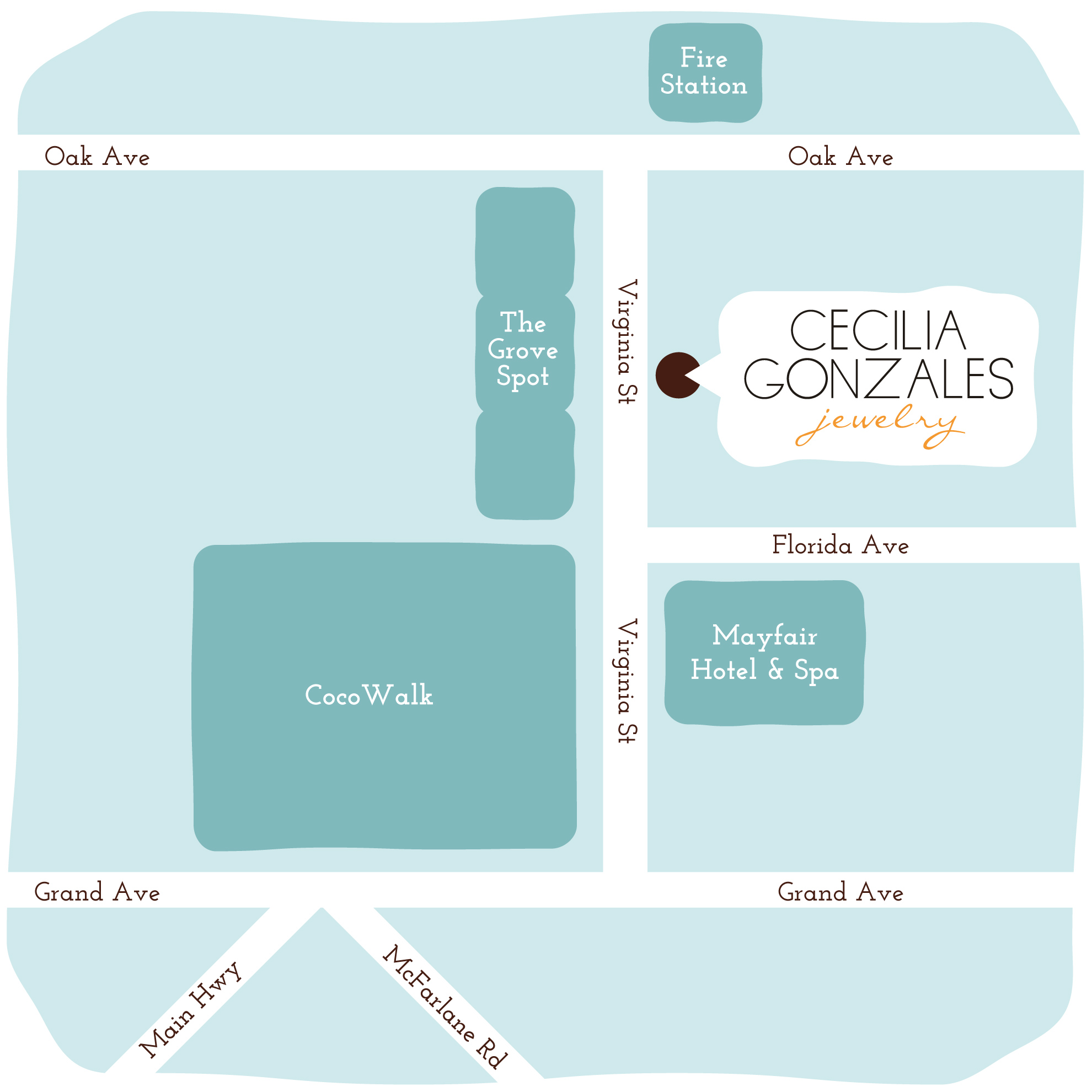 Cecilia Gonzales Jewelry location in Miami, FL