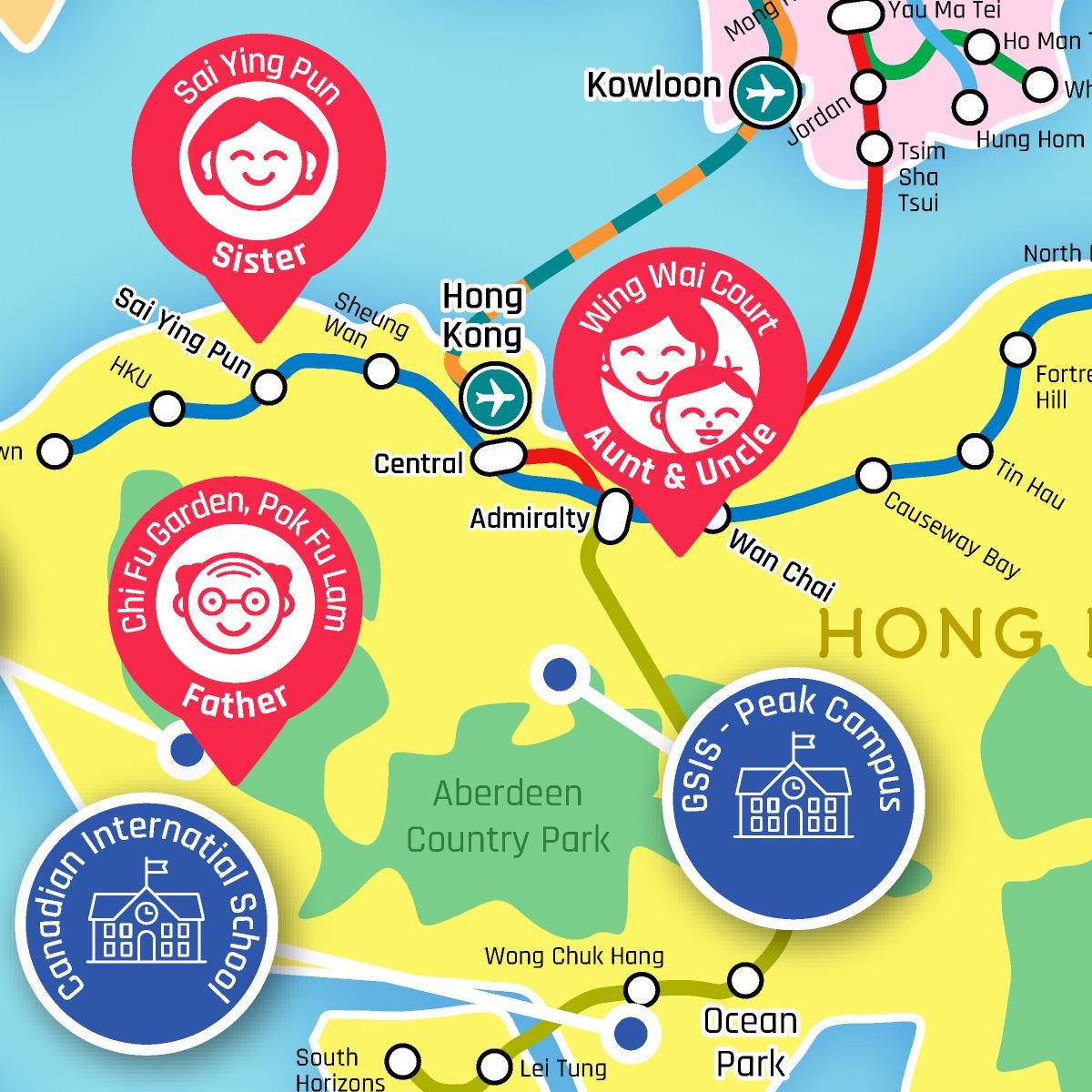 Honk Kong map preview