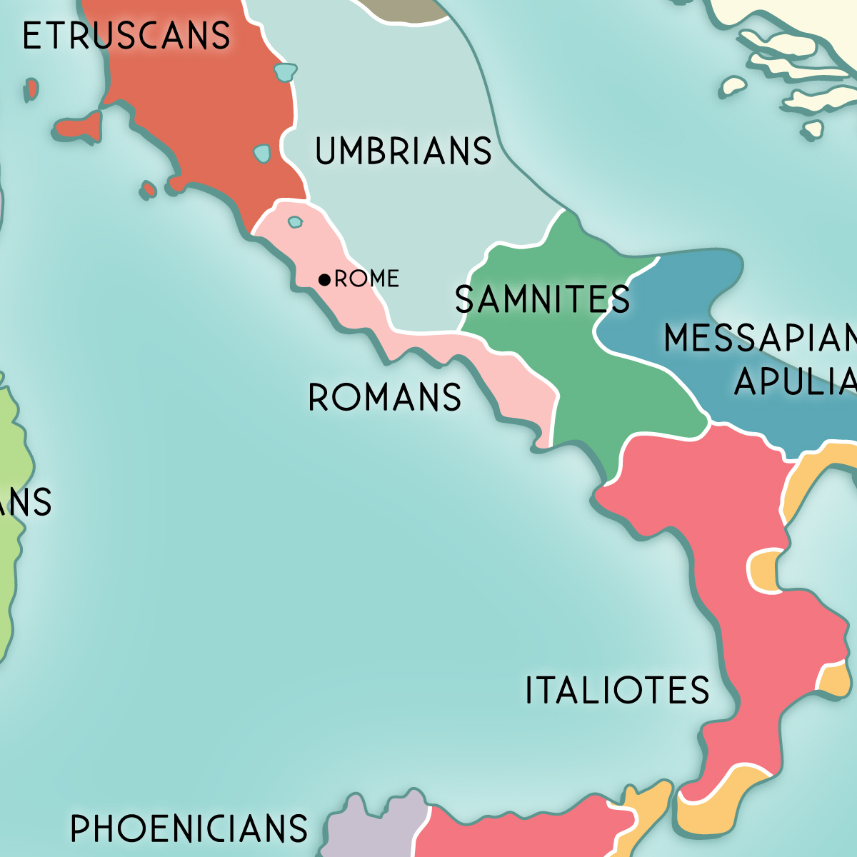 Etruscan civilisation maps preview