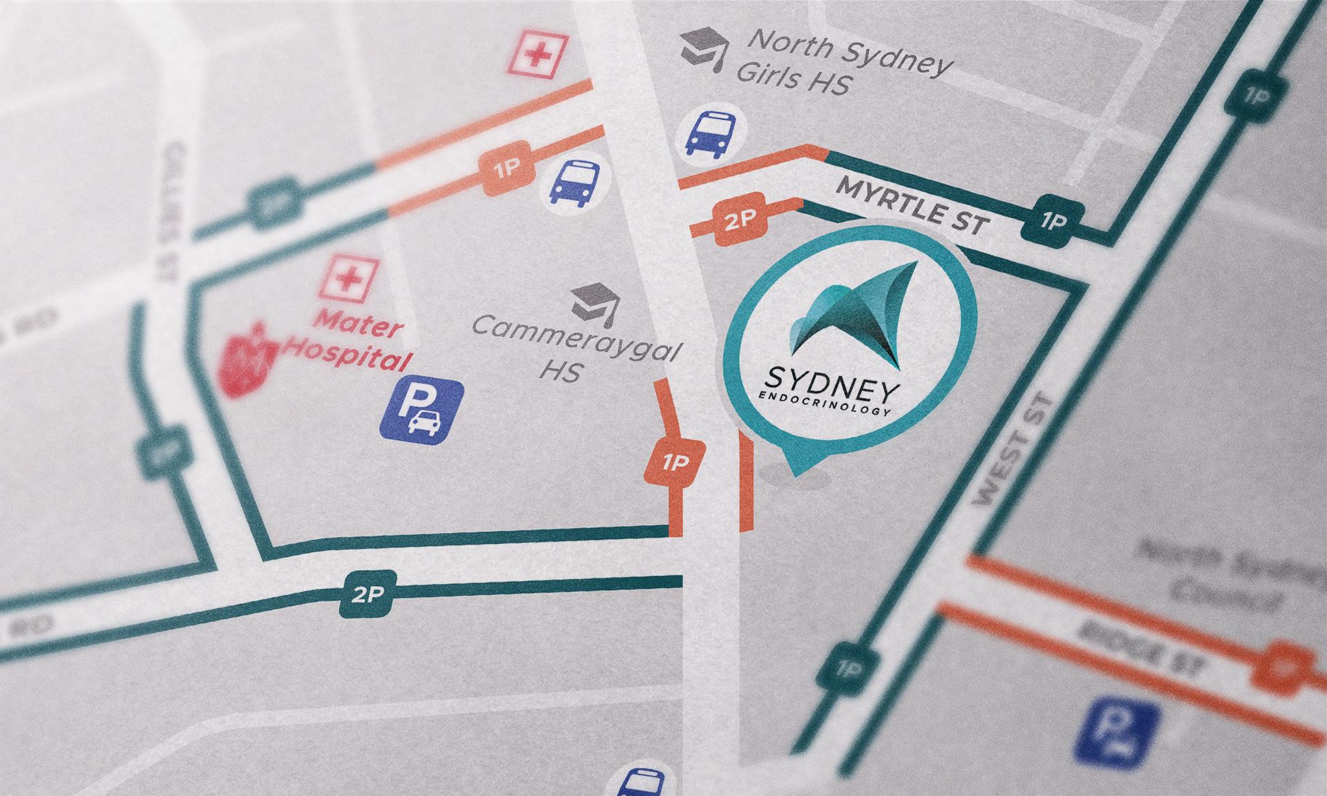 Access map close-up