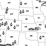 Us National Parks map preview