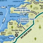 Big Bear Lake map preview