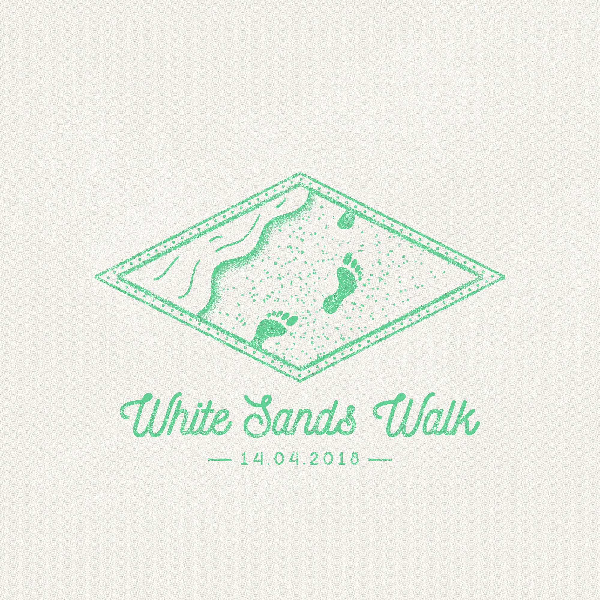 White Sands Walk, NSW passport stamp