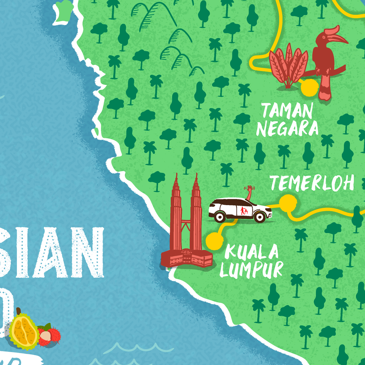 Malaysian map thumbnail