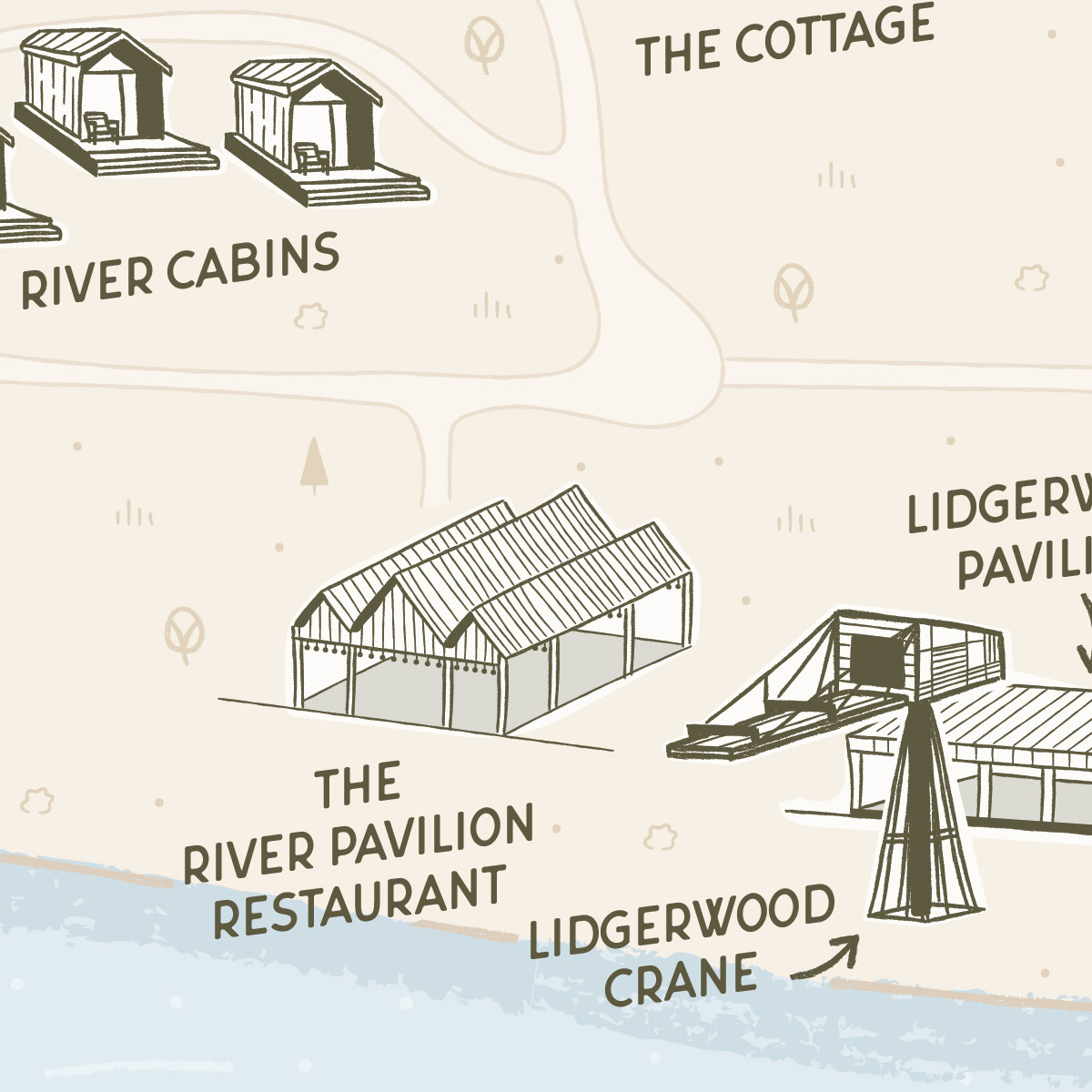 Hutton Brickyards illustrated map preview