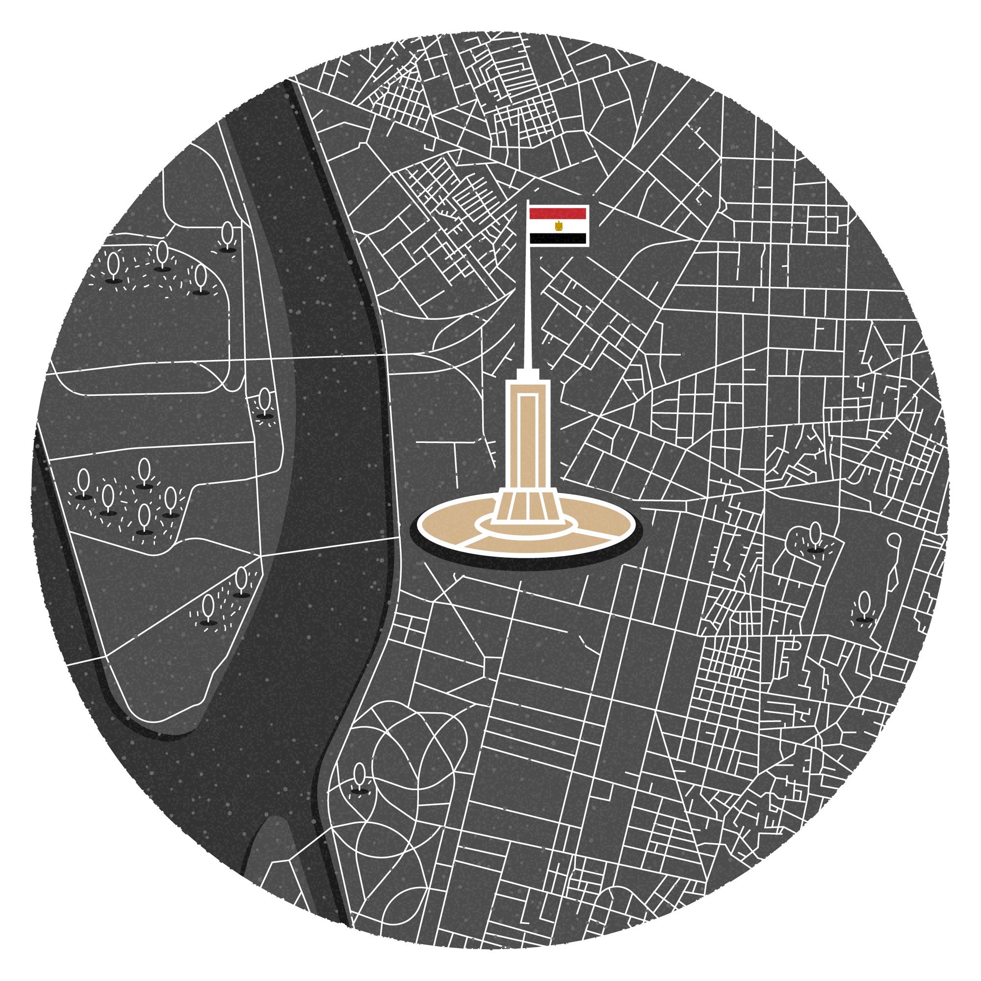 Mini map of Cairo
