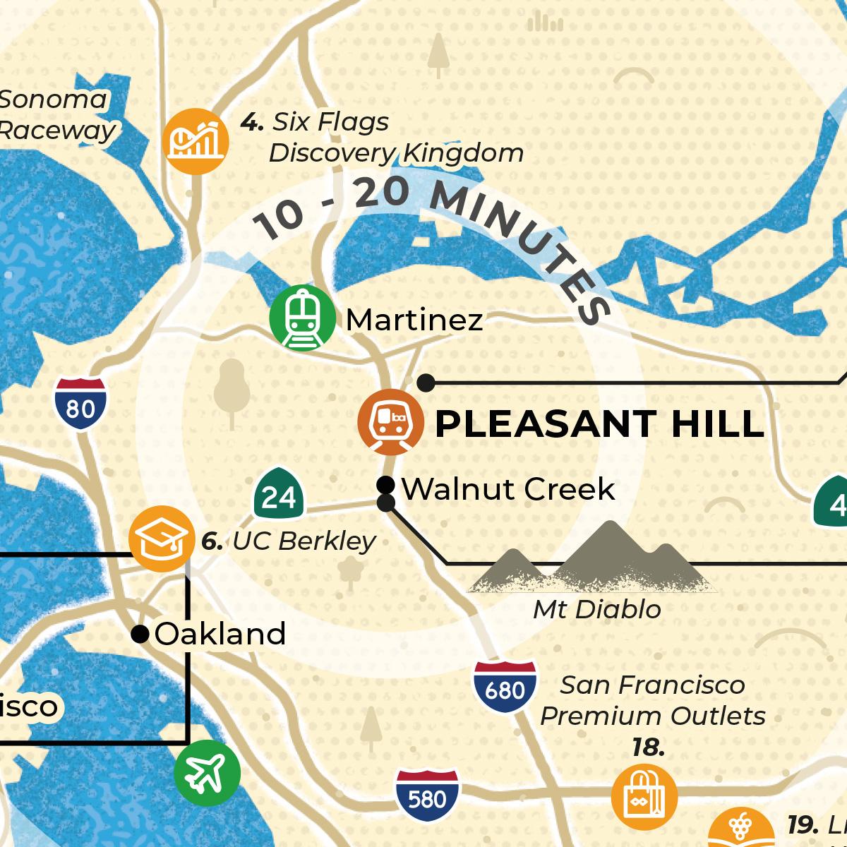 Pleasant Hill map thumbnail