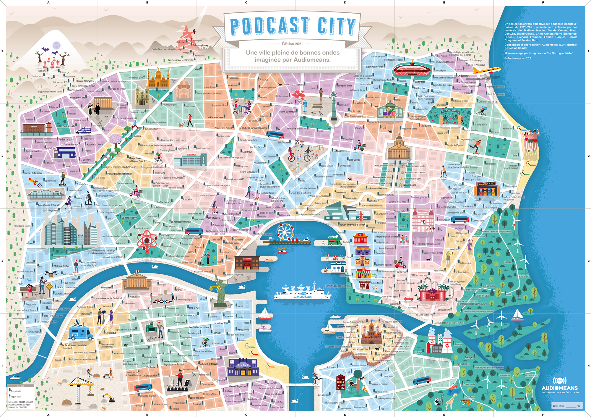 Podcast City full view