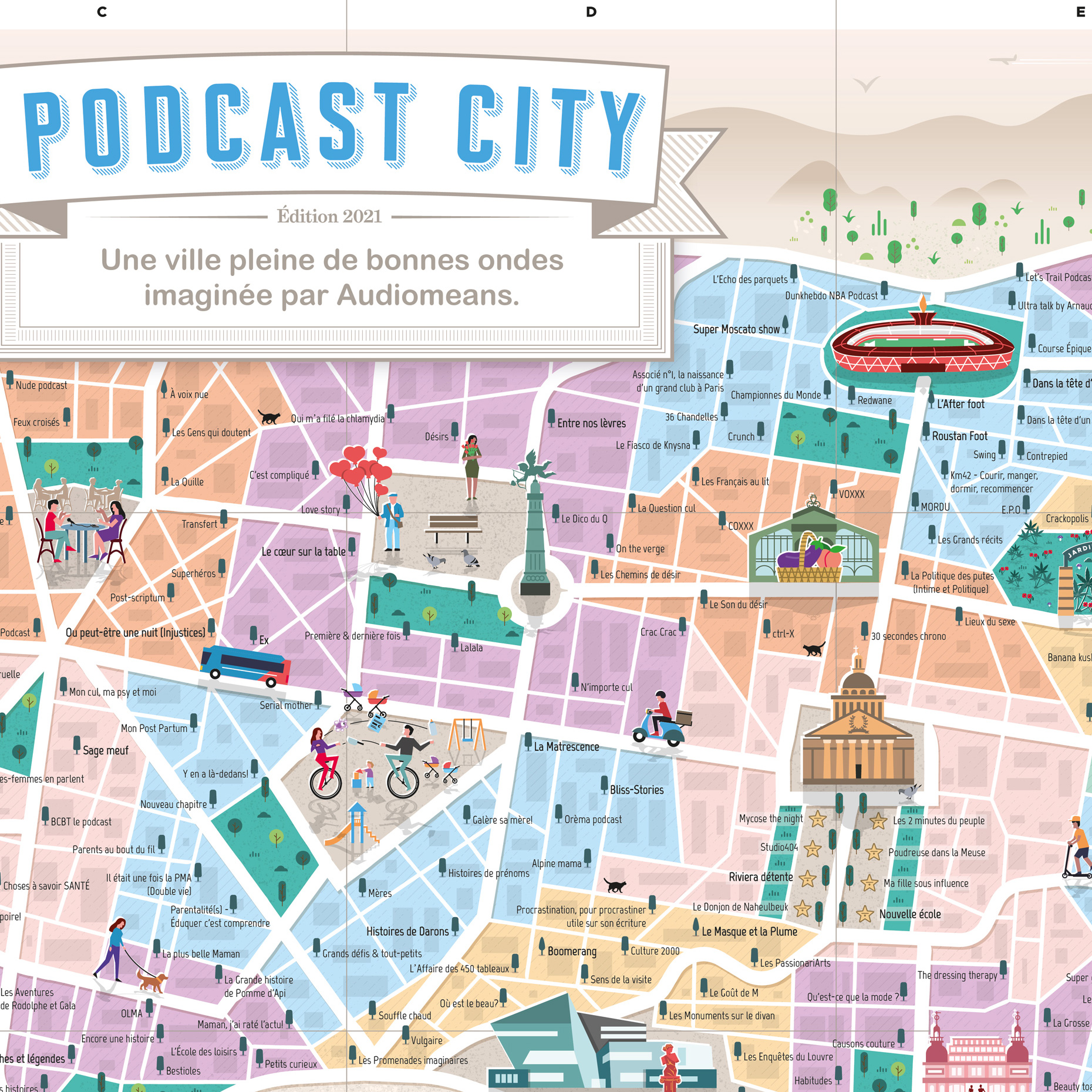 Podcast City Zoom 2